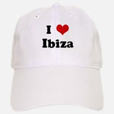 I Love Ibiza Baseball Baseball Cap