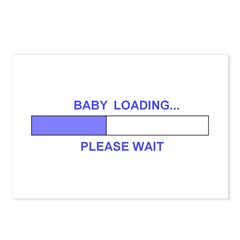 BABY LOADING... Postcards (Package of 8)