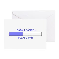 BABY LOADING... Greeting Cards (Pk of 10)