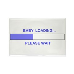 BABY LOADING... Rectangle Magnet