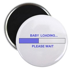 BABY LOADING... Magnet