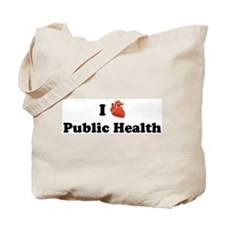 I (Heart) Public Health Tote Bag