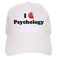 I (Heart) Psychology Baseball Cap