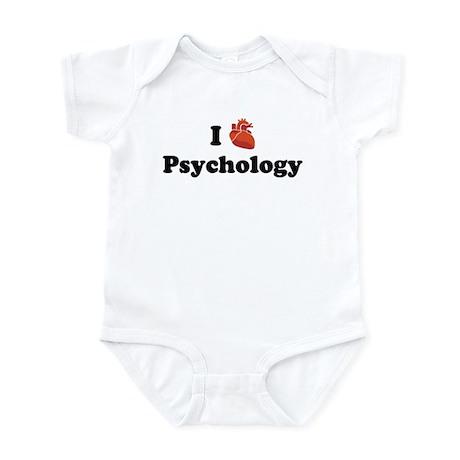 I (Heart) Psychology Infant Bodysuit