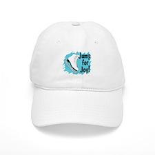 Jump for Joy Turquoise Ice Skate Baseball Cap