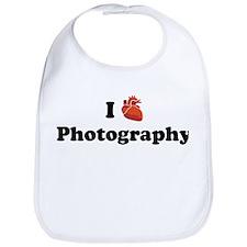 I (Heart) Photography Bib