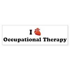 I (Heart) Occupational Therap Bumper Bumper Sticker
