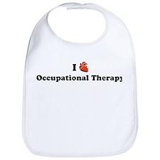 I (Heart) Occupational Therap Bib