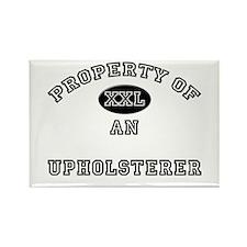 Property of an Upholsterer Rectangle Magnet