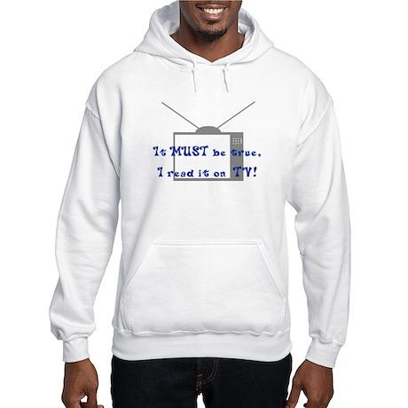 Read It On TV Hooded Sweatshirt