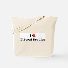 I (Heart) Liberal Studies Tote Bag