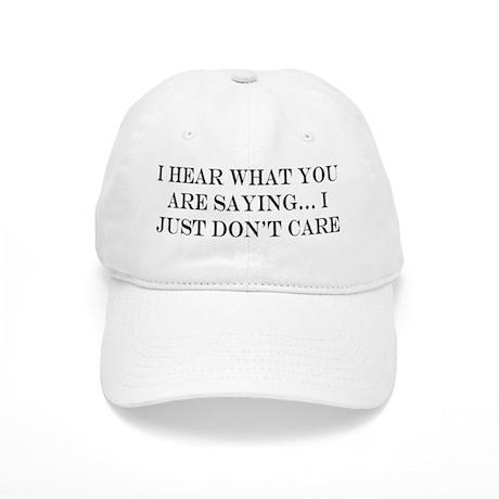don't care Cap