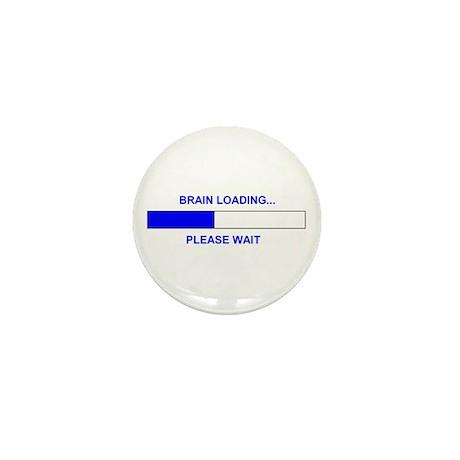 BRAIN LOADING... Mini Button