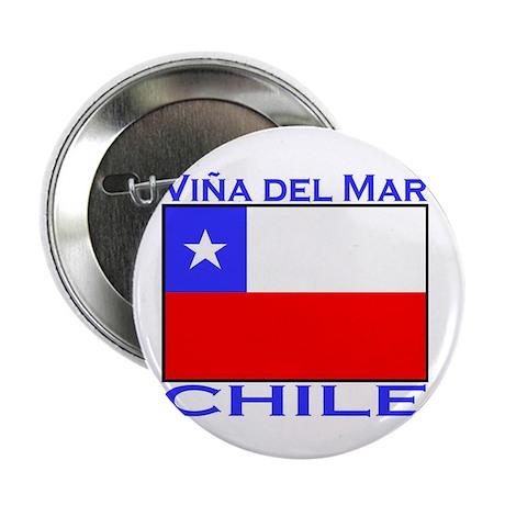 "Vina del Mar, Chile 2.25"" Button (10 pack)"