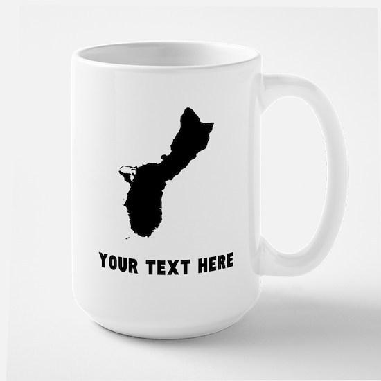 Guam Silhouette (Custom) Mugs