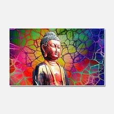 Unique Buddhism Car Magnet 20 x 12
