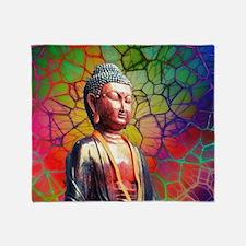 Unique Buddhism Throw Blanket