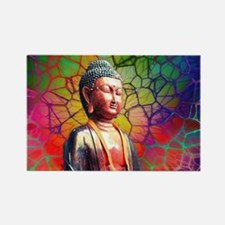 Cute Buddhism symbol Rectangle Magnet