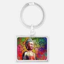 Cute Buddhism symbol Landscape Keychain