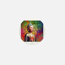 Cute Buddhism symbol Mini Button