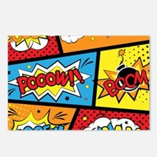 Comic Effects Postcards (Package of 8)