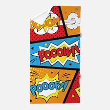Comic Effects Beach Towel