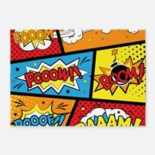 Comic Effects 5'x7'Area Rug