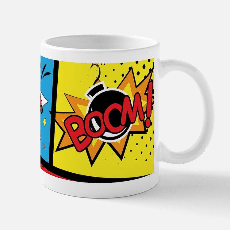 Comic Effects Mugs