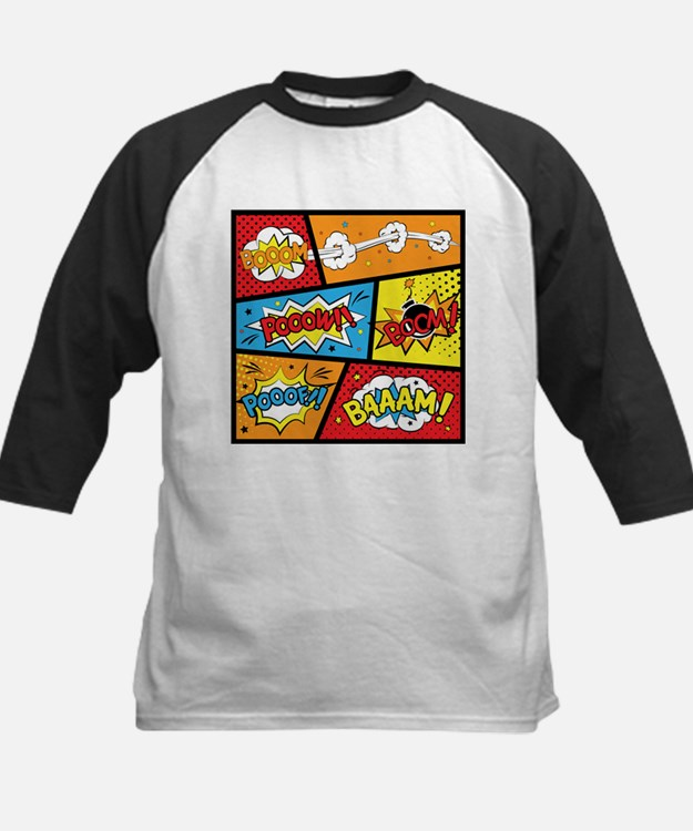 Comic Effects Baseball Jersey