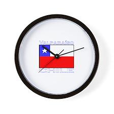 Valparaiso, Chile Wall Clock