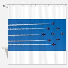 RED ARROWS Shower Curtain