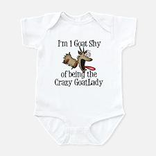 Crazy Goat Lady Infant Bodysuit