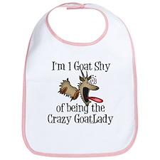 Crazy Goat Lady Bib
