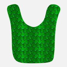 Green Reptile Scales Bib