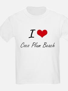 I love Coco Plum Beach Florida artistic d T-Shirt