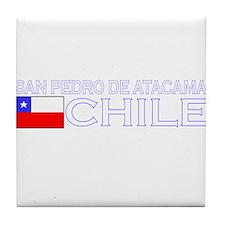 San Pedro de Atacama, Chile Tile Coaster