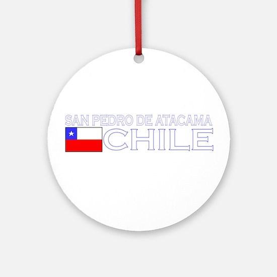 San Pedro de Atacama, Chile Ornament (Round)
