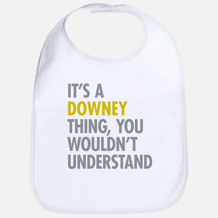 Its A Downey Thing Bib