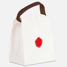 Cute Japan tsunami Canvas Lunch Bag