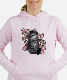 Cool Kitten Women's Hooded Sweatshirt