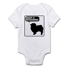 Adopt a Keeshound Infant Bodysuit