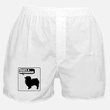 Adopt a Keeshound Boxer Shorts