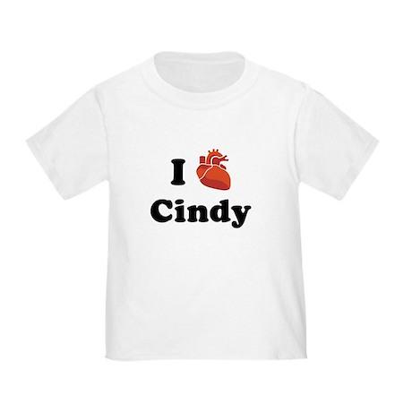 I (Heart) Cindy Toddler T-Shirt