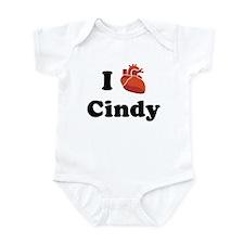 I (Heart) Cindy Infant Bodysuit