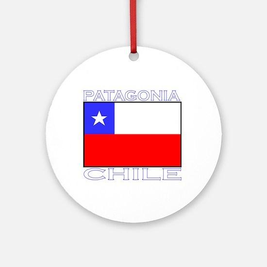 Patagonia, Chile Ornament (Round)