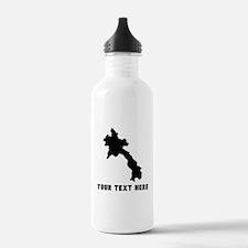 Laos Silhouette (Custom) Water Bottle