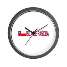 Isla de Pascua, Chile Wall Clock