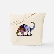 Funny Brontosaurus Tote Bag