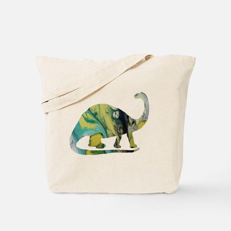 Cute Brontosaurus Tote Bag
