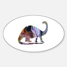 Funny Brontosaurus Decal